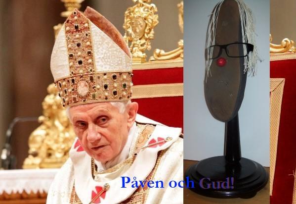 Påven och Gud