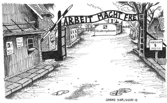 försäkringskassan-Auschwitz